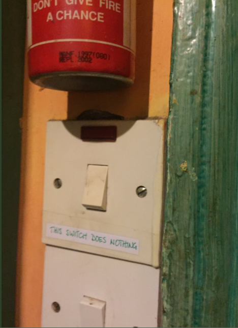 This switch doesnothing
