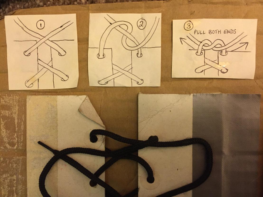 How to Tie YourShoelaces